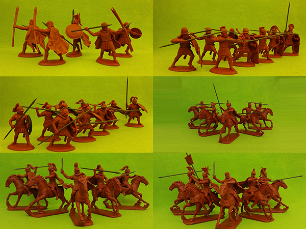 60 mm Ancient Macedonians